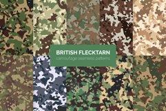 British Flecktarn Camouflage Seamless Patterns Product Image 1