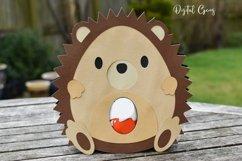 Hedgehog Easter egg holder design SVG / DXF / EPS Product Image 3