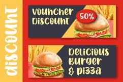 Spicy Burger - Delicious Unique Font Product Image 4