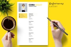 Legal Resume CV Template for Word & Pages Cora Bailey Product Image 6