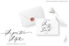 Wild Magnolia Signature Script Font Product Image 5
