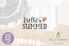 Hello Summer SVG, Summer Front Door Sign SVG Product Image 2