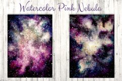 Watercolor Pink Nebula Collection Product Image 3