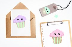 Cutie Cupcakes graphics and illustrations Product Image 4