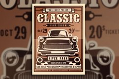 Classic Car Show Flyer Product Image 4