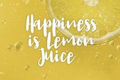 Lemon Juice Script Font Product Image 3