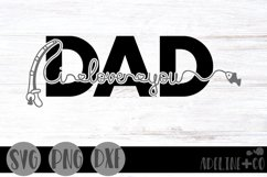 I love you Dad, fishing, Father's Day Product Image 1