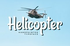Web Font Helicopter Product Image 1