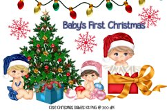 Baby's First Christmas Digital Scrapkit Product Image 3