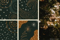 Abstract Linear Winter Background Collection Product Image 3