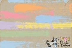 Long Dry Paint Stroke Photoshop Brushes Product Image 3