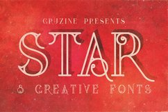 Star Typeface Product Image 1