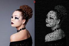 Typo Portrait v2 Photoshop Action Product Image 2