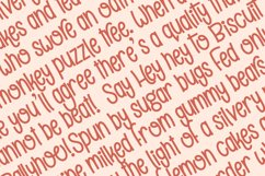 Biscuit Ballyhoo - A quirky handwritten font! Product Image 4