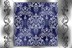 Victorian seamless pattern with ornament in vintage style. Product Image 2
