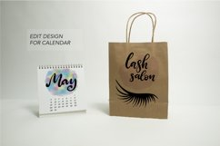 Craft Paper Shopping Bag Mockups. 7 PSD files, smart objects Product Image 4
