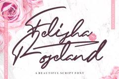 Felisha Roseland Script Font Product Image 1