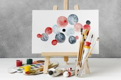 Abstract watercolor backgrounds and shapes Product Image 3