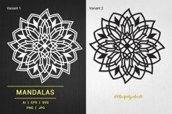 Mandalas Tulip Illustration Product Image 1