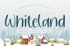Whiteland Modern Handwritten Font Product Image 1