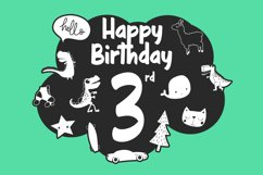 Owen Zoey Kids Characters Font Duo Product Image 6
