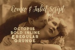 Romeo & Juliet Font Duo Product Image 2