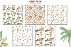 Giraffes. Watercolor collection Product Image 10