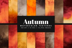 Autumn Digital Paper Pack Product Image 1