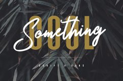 Something Cool - Font Duo Product Image 1
