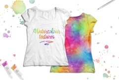 10 Huge Seamless Rainbow Watercolor Textures Product Image 6