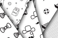 Little Gentleman Seamless Patterns Product Image 2