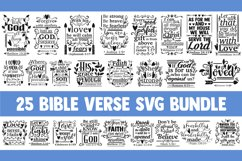 Bible verse SVG bundle, christian svg, blessed svg religious Product Image 1