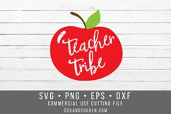 Teacher Tribe SVG - School SVG Product Image 2