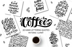 Coffee lettering set Product Image 1
