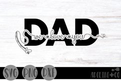 We love you Dad, fishing, Father's Day Product Image 1