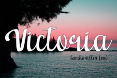 victoria font Product Image 1