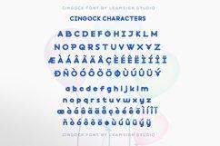 Cingock Font Product Image 5