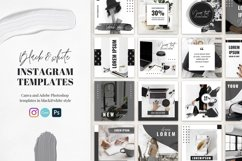 Canva Instagram Templates Black&White Product Image 1
