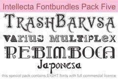 Intellecta Fontbundles Pack Five Product Image 1