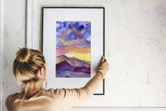 5 sunrise mountain landscapes Product Image 3