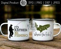 Fishing Bundle Father's Day Fisherman Angler SVG PNG JPEG Product Image 2