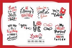 Love ss1 SVG Bundle , Valentine SVG Bundle Product Image 2