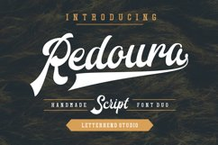 Redoura Font Duo (20% OFF) Product Image 1