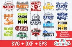 Baseball SVG Bundle #1| Template SVG Cut Files Product Image 1