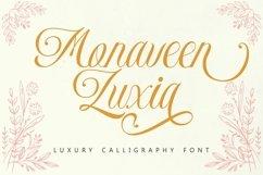 Monaveen Luxia - Luxury Calligraphy Font Product Image 1