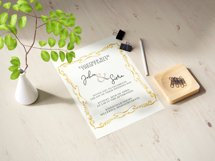Gold Decorative Frames Clipart - Set of 20 Product Image 4