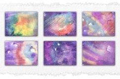Watercolor Background Set, Sublimation Background Texture Product Image 3
