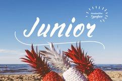 Junior—handwritten font Product Image 1