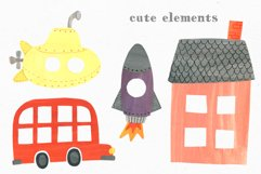 Papercut Animals Clipart Product Image 10