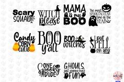 Big Halloween SVG Bundle - 50 Designs Cut Files Product Image 6